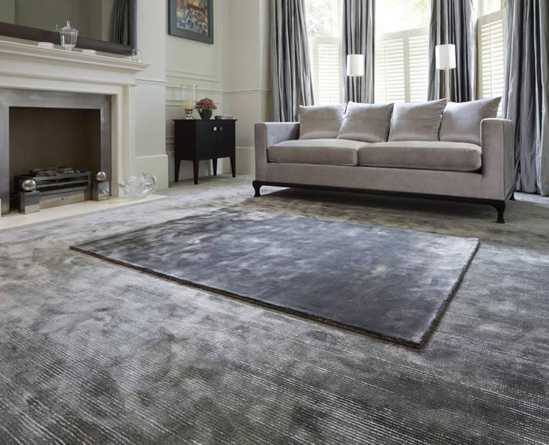 las alfombras de Tencel son suaves y absorven la humedad