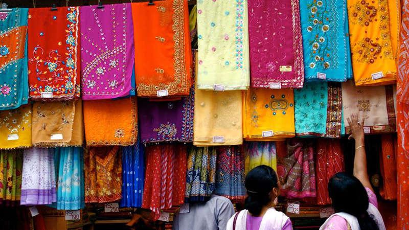 Mercado textil en la India