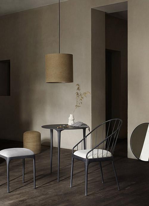 sillas de aluminio para decorar el comedor