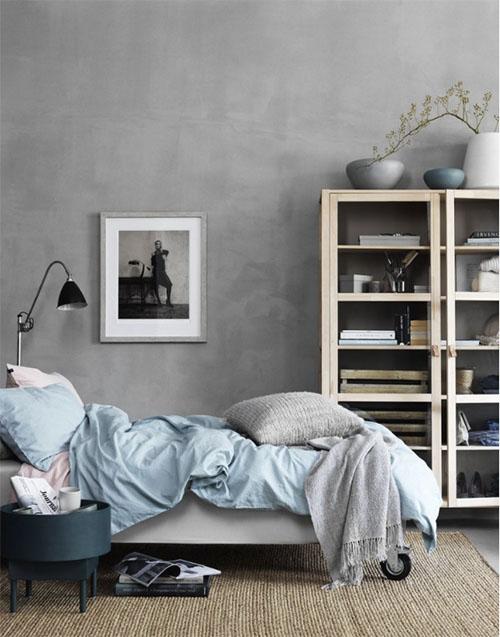 Colores neutros para decorar el dormitorio de casa