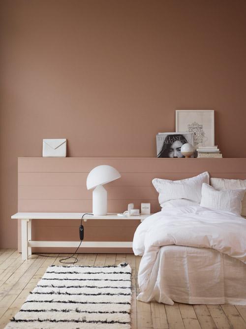 Colores cálidos en la decoración de interiores