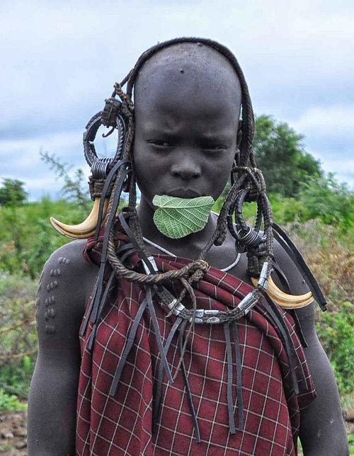 tribu mursi de etiopía