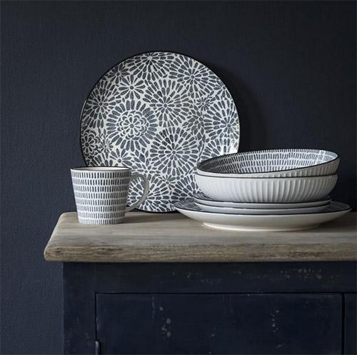 vajilla de mesa de porcela y cerámica