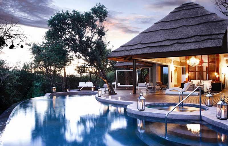 Viajar de safari a Sudáfrica en un resort de lujo
