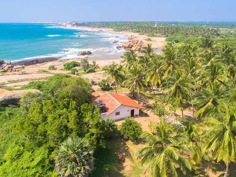 Parque nacional de Yala en Sri Lanka